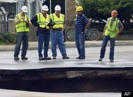 Milwaukee Sinkhole