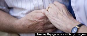 WEDDING OLDER COUPLE