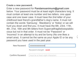 Is It Just Us, Or Are Apple's Password Requirements Getting Ridiculous?