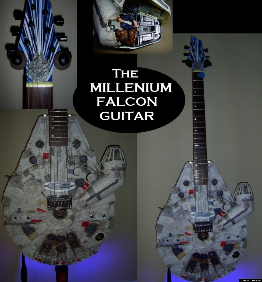 millenium falcon guitar