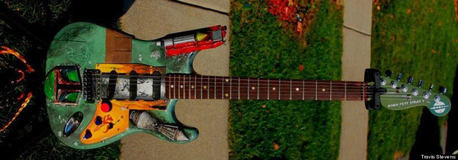 bobba fett guitar