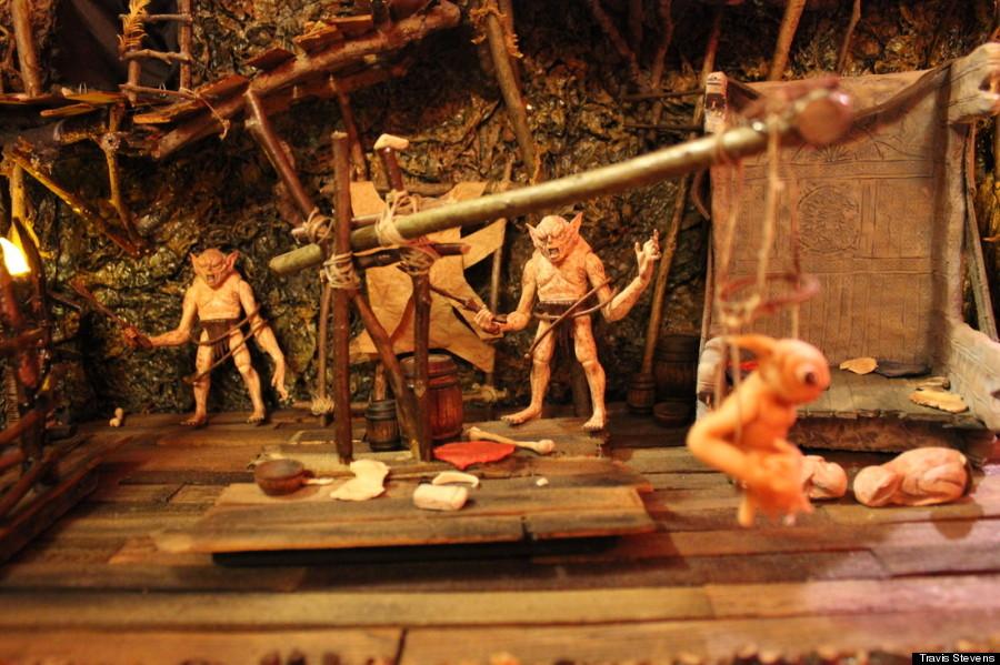 hobbit diorama 2