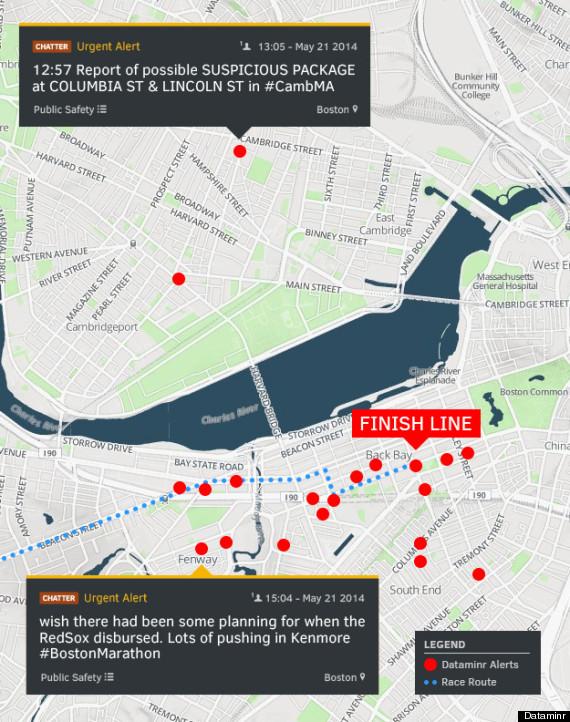 dataminr boston map