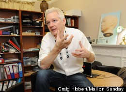 Life Inside A Converted Women's Toilet: How Assange Spends HIs Days At The Ecuadorian Embassy