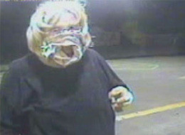 Woman Robs McDonald's While Wearing Underwear On Her Face (VIDEO)
