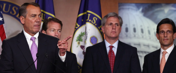 Eric Cantor Loss Spurs Heated GOP Leadership Race