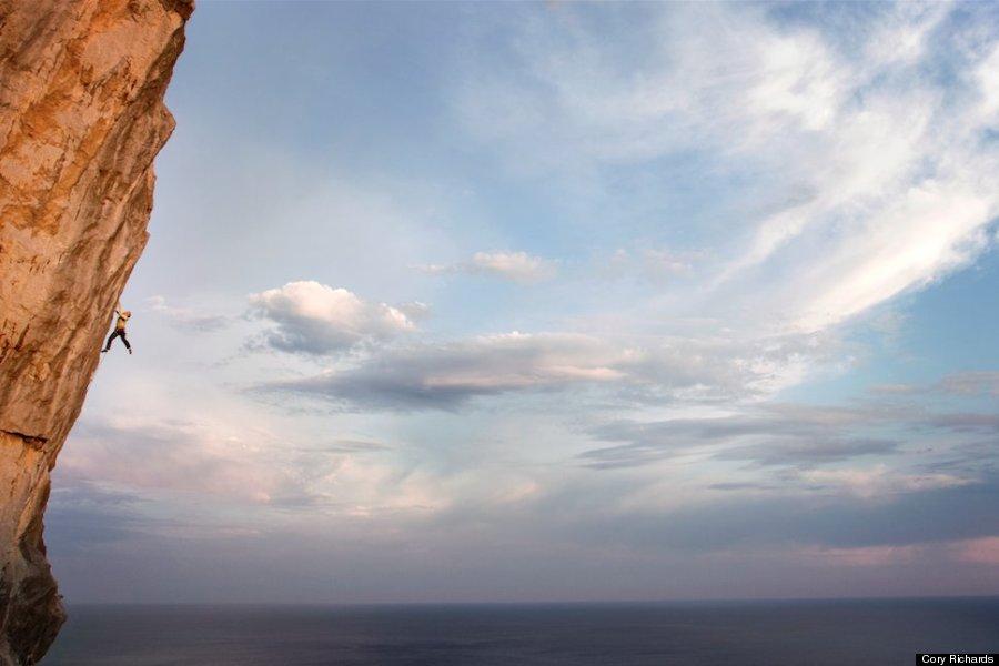 hanging climber