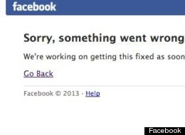 Facebook Was Down, It's Not Now