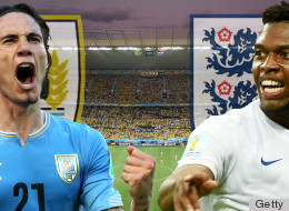 Uruguay 2-1 England: As It Happened