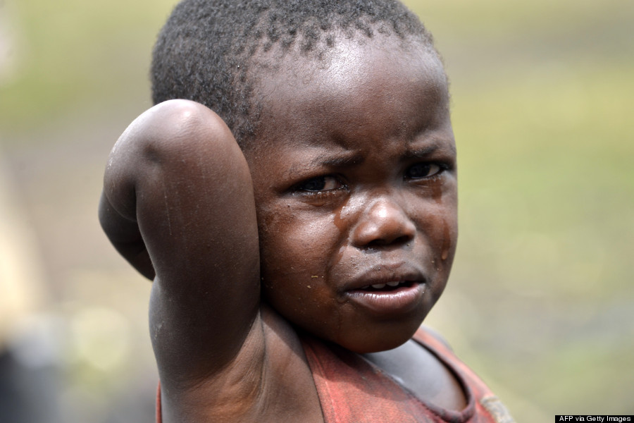 Crying Child | Ahdieh Ashrafi | Flickr |Crying African Children