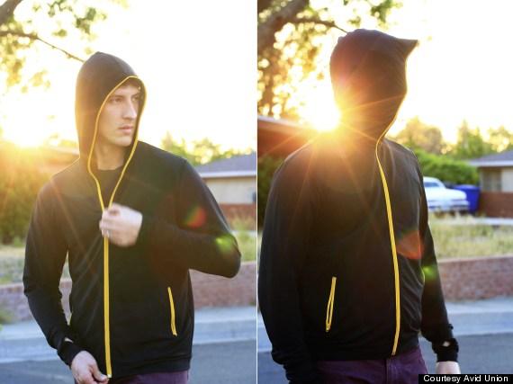 visor hoodie