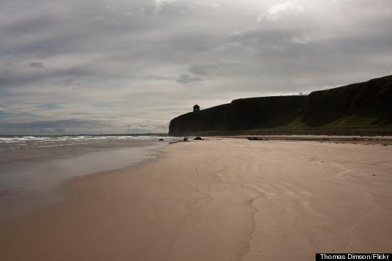 downhill beach ireland