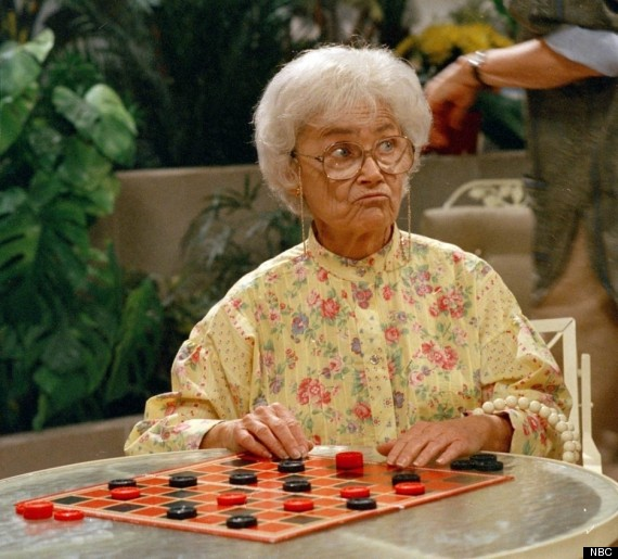 14 things you never knew about 39 the golden girls 39 huffpost for Why did bea arthur hate betty white