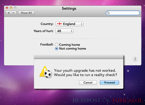 england world cup factory settings