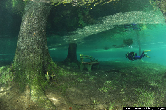 This Austrian Park Literally Transforms Into A Lake And It ...