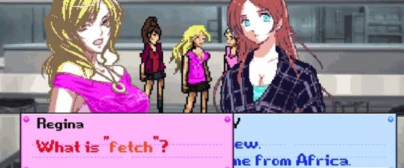MEAN GIRLS 8 BIT ANIME