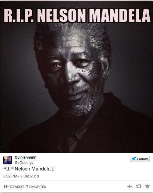 morgan freeman nelson mandela