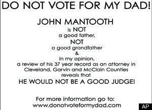 Do Not Vote For My Dad John Mantooth