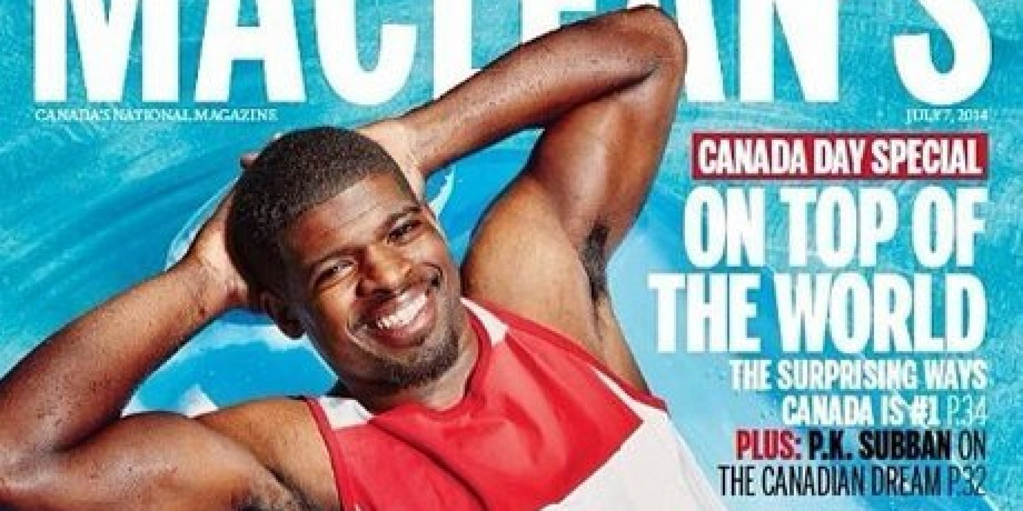 Pk Subbans Macleans Cover Is Predictably Awesome Photo