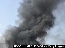 NATO Air Base Hit By Taliban Rockets