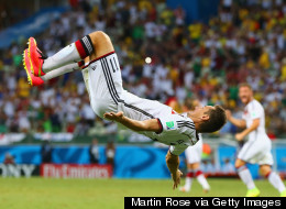 Head Over Heels: Record Holder Klose's 15 World Cup Goals