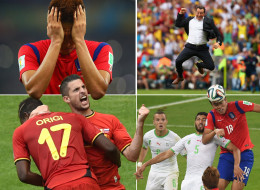 World Cup 2014: Sports Pictures Of The Day Monday 23rd  June 2014
