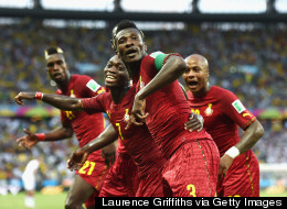 World Cup 2014: Best Celebrations In Pictures