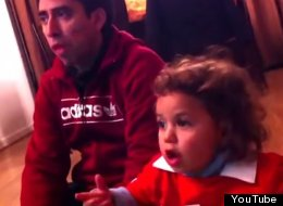 WATCH: This Two-Year-Old Is The Cutest World Cup Fan We've Seen Yet