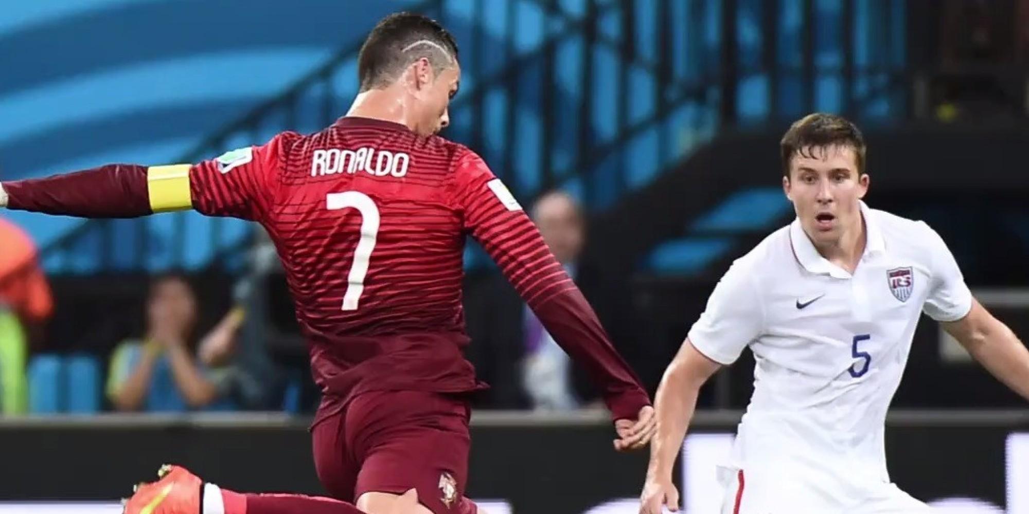 Die rührende Geschichte hinter Christiano Ronaldos Blitzfrisur