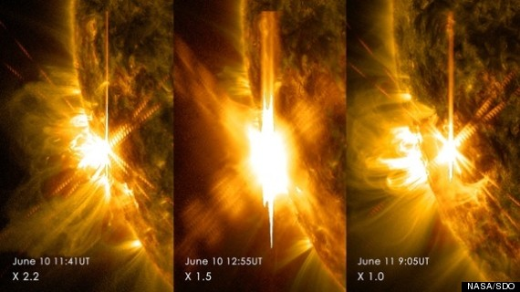 sun xclass solar flares