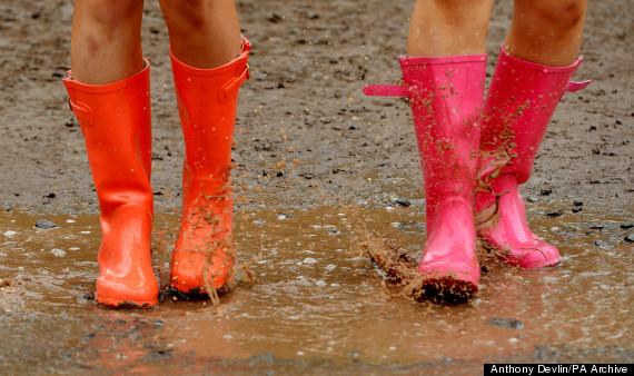 glastonbury rain 2013