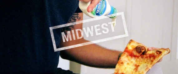RANCH ON PIZZA