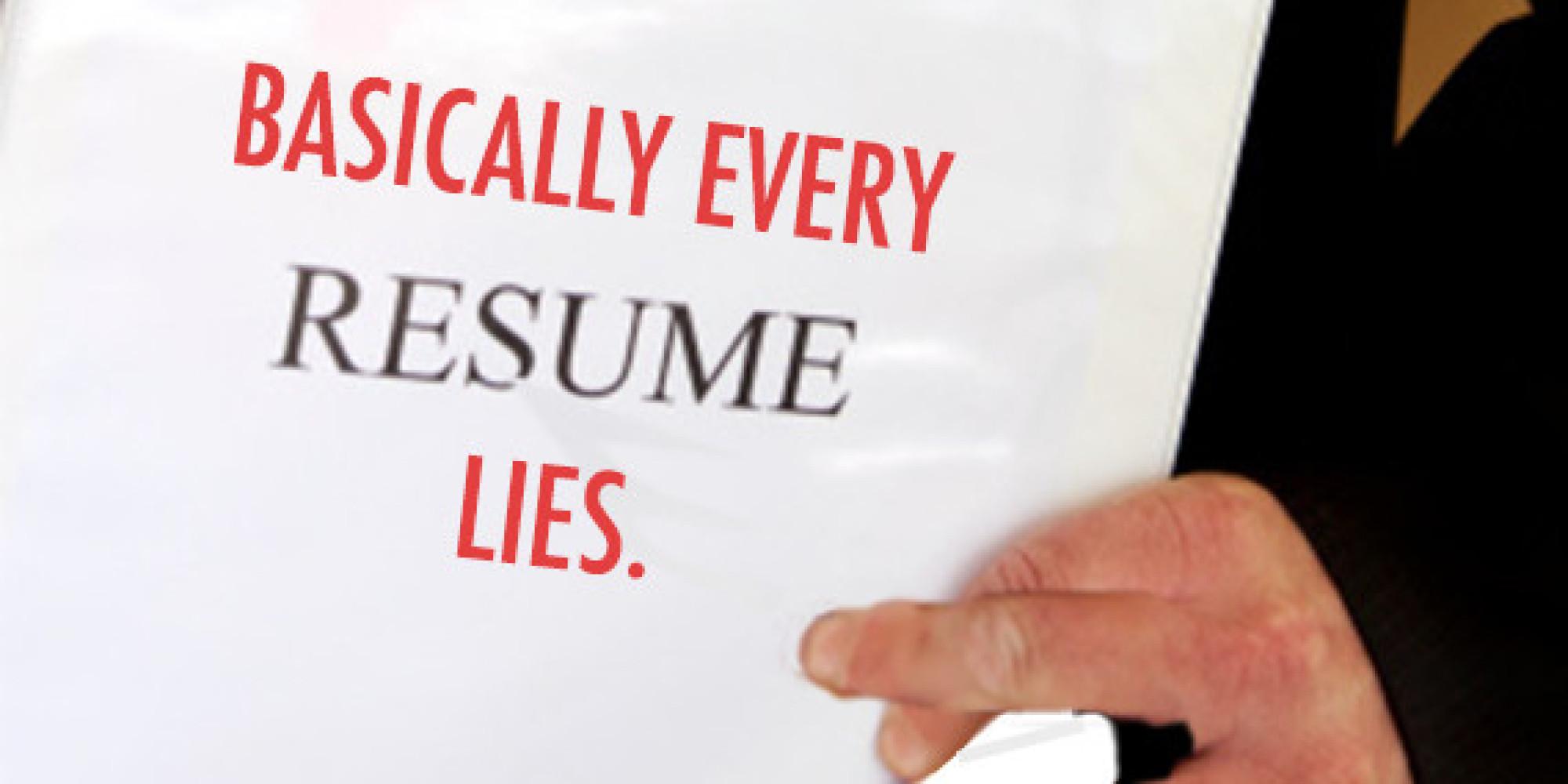 Life polygraph resume style