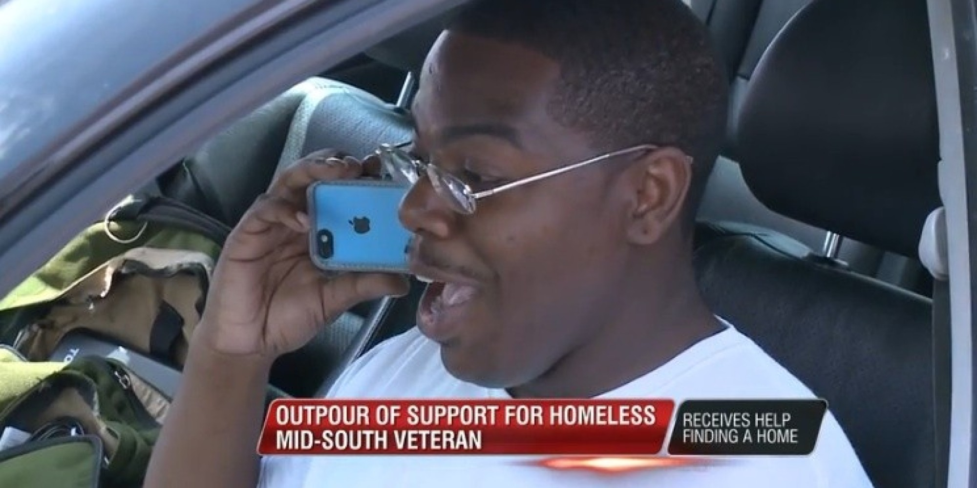 VA Couldn 39 T Help This Homeless Vet With Disabilities So A