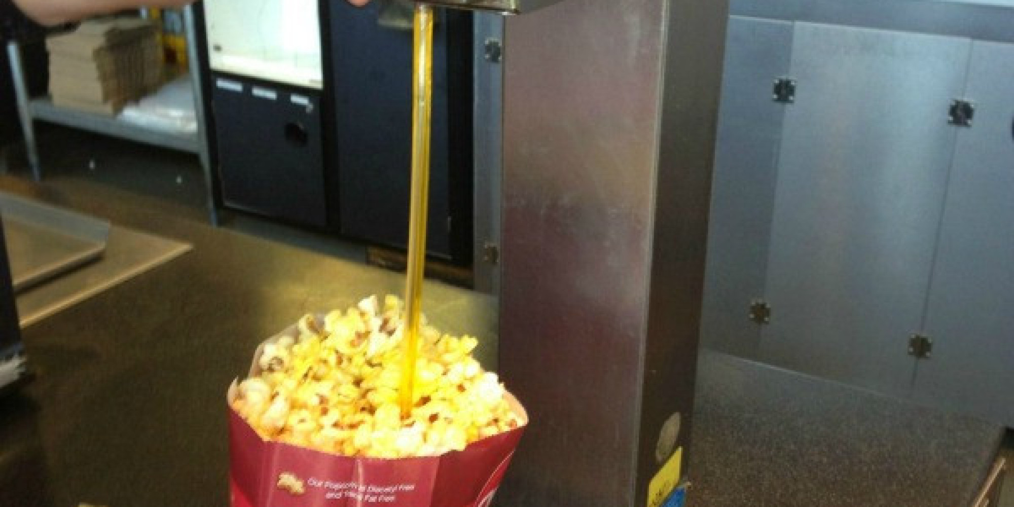 this is the only way to butter your popcorn huffpost