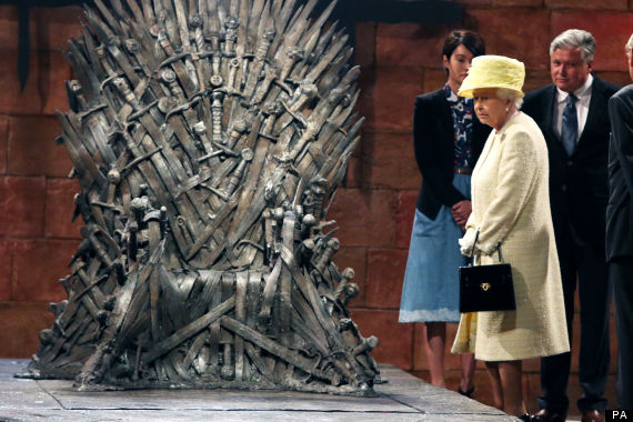 queen game of thrones iron throne