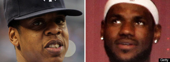 Jay Z Lebron James