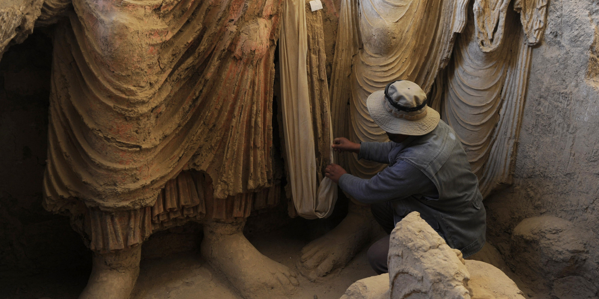 Afghanistan's Hidden Trove Of Buddhist Artifacts In Danger