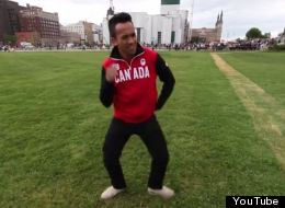WATCH: Olympians, Nenshi And Trudeau Dance To 'Happy'