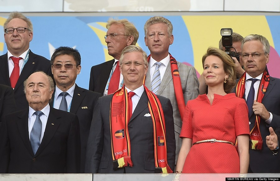 president attend world cup