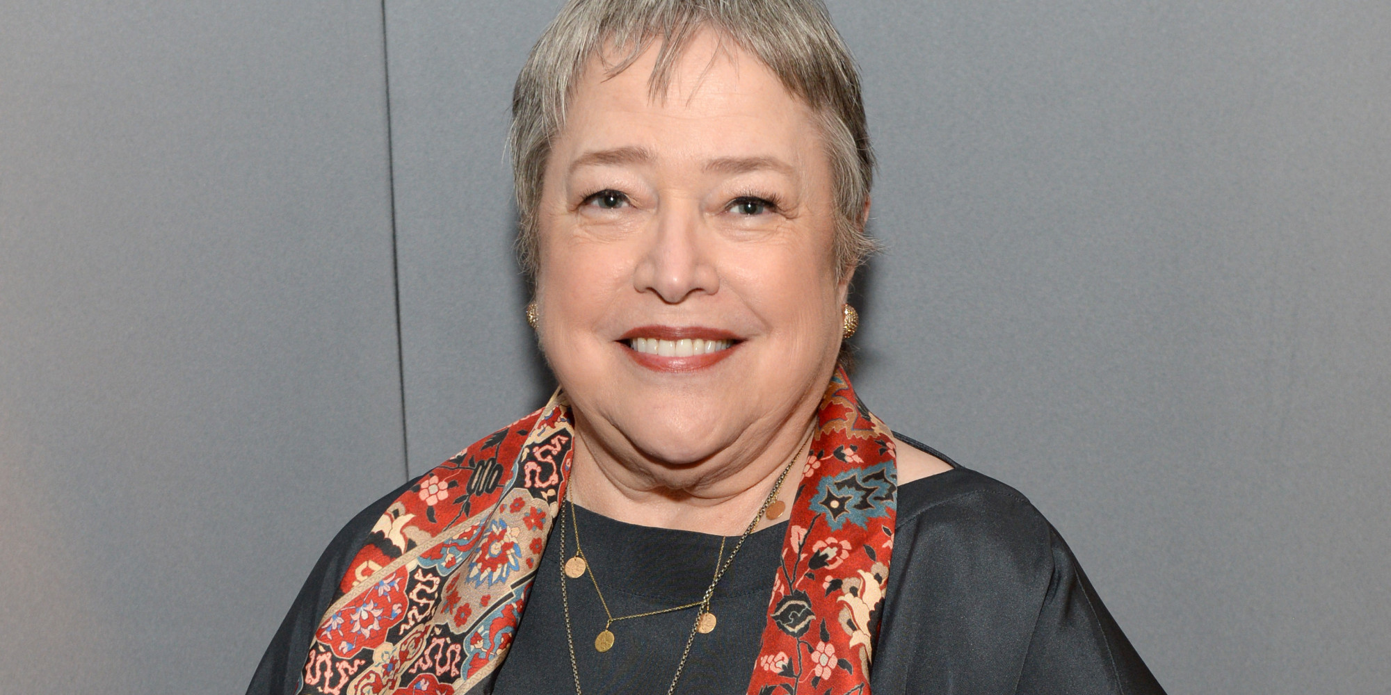 With Kathy Bates on Ag...