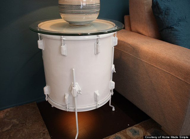 drum light stand