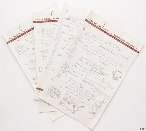manuscrit dylan