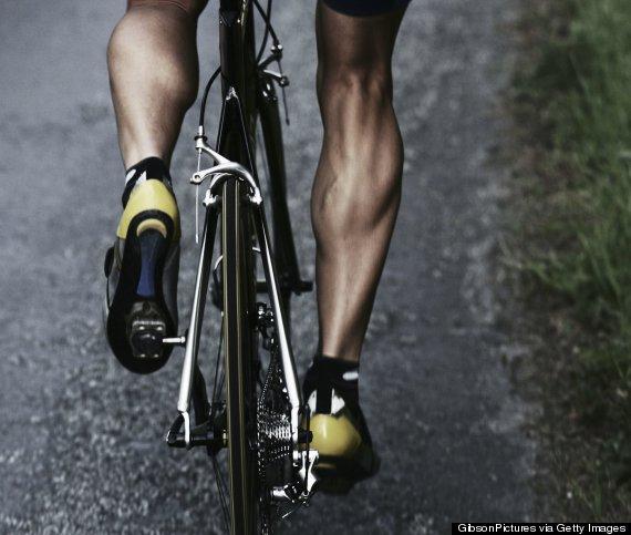 leg muscles bike