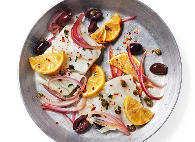 cod with lemon recipe