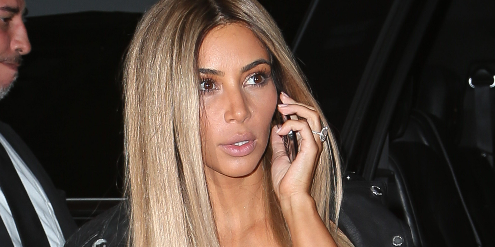 Blonde Kim Kardashian 83