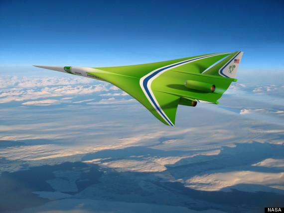 nasa supersonic