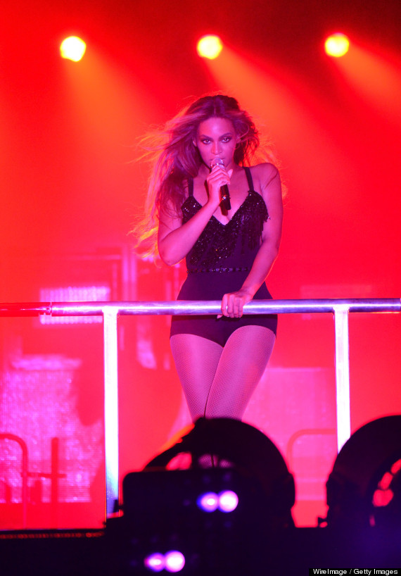 beyonce concert front