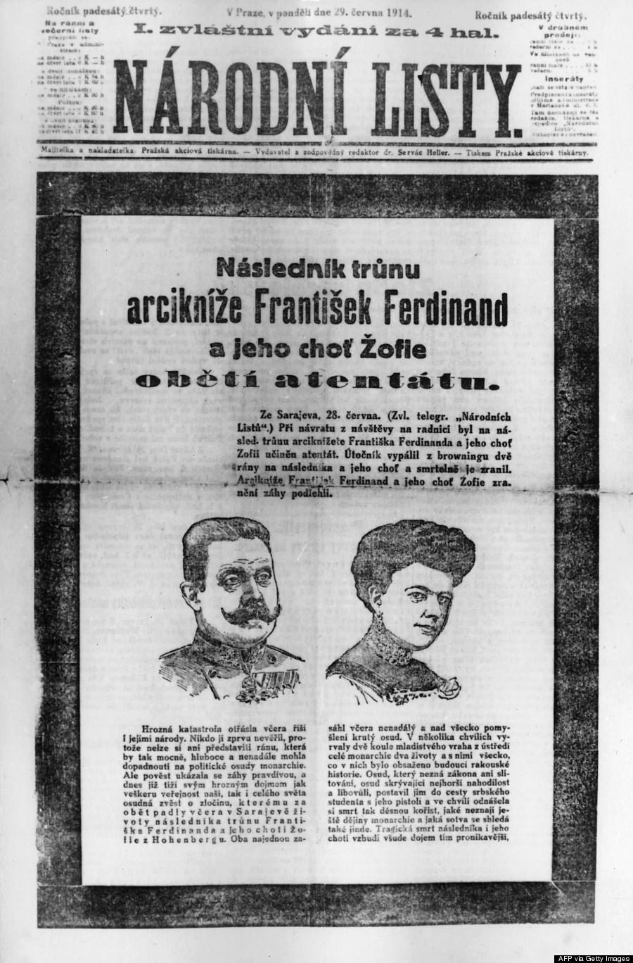 duke sarajevo 1914
