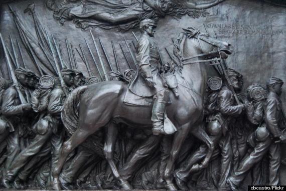 the shaw memorial boston
